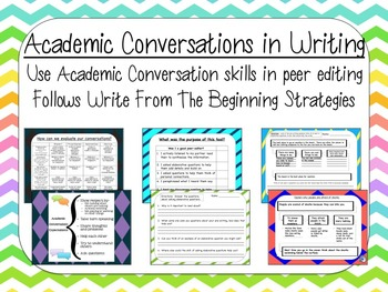 Academic Conversations In Writing