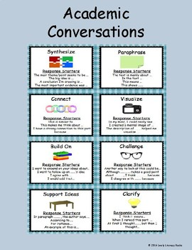 Academic Conversations Poster