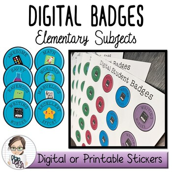 Academic Digital Badges - Commerical Use Permitted