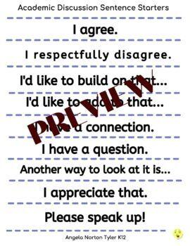 Academic Discussion | Academic Conversations