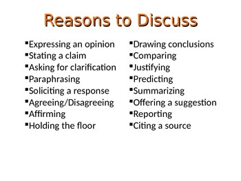 Academic Discussion Guidelines
