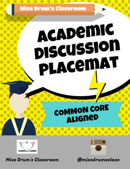 Academic Discussion Placemat