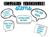 Academic Discussion Stems