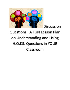 Academic Discussions:  A Two Day Lesson to Use in ANY Subject