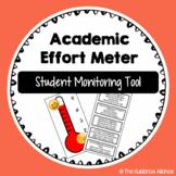 Academic Effort Meter! A Universal Classroom Tool and Handout