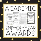 Academic End of the Year Awards