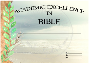 Academic Excellence in Bible -- FREE!!
