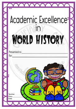 Academic Excellence in World History