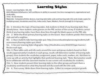 Academic Habits- BUNDLE DISCOUNT- 4 lessons for K-6