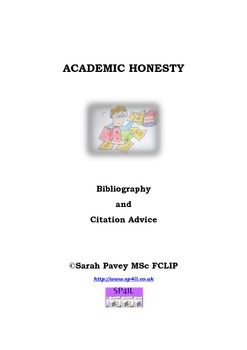 Academic Honesty Bibliography and Citation Advice Booklet