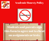Academic Honesty Policy