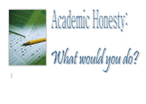 Academic Honesty Quiz / Plagiarism / Integrity / Honor Codes