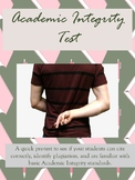 Academic Integrity Test