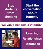 Academic Integrity and Honesty, Honor Code, Plagiarism Pre
