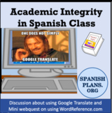 Academic Integrity in Spanish Class