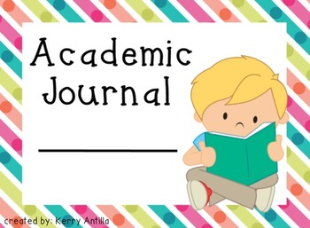 Academic Journal Labels Neon Dream