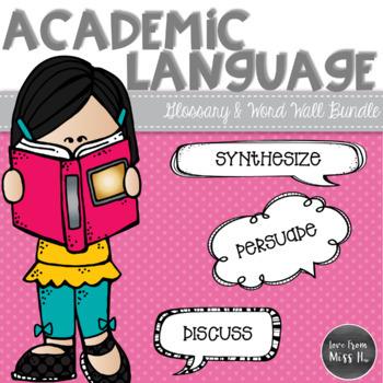 Academic Language Bundle