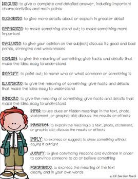 Academic Vocabulary Bundle: English Language Arts