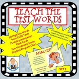 Academic Language Common Core Words: Set 2