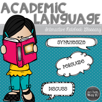 Academic Vocabulary Glossary: English Language Arts