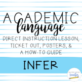 Academic Language Lesson {Infer}