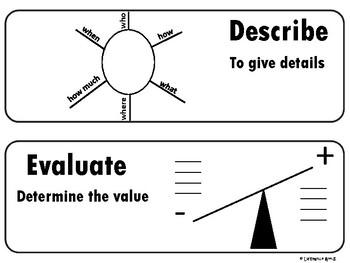 Academic Language Vocabulary Cards