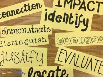 Academic Language Words