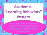 "Academic Learning Behaviors Posters ""Plus"""