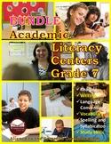 Academic Literacy Centers Grade 7 BUNDLE