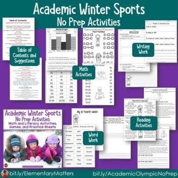 Academic Olympic Winter Sports Bundle