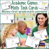 Academic Games Math Task Cards