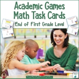 Academic Summer Games Math Task Cards