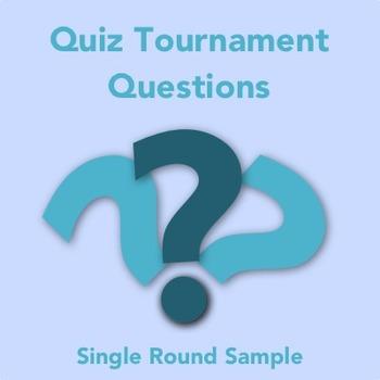 Academic Quiz Tournament Sample Questions