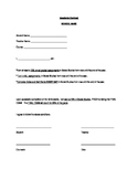 Academic Recovery Contract