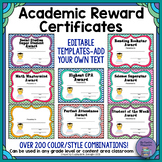 Academic Reward Certificates