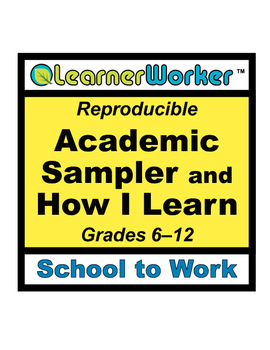 Special Education Academic Sampler