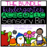 Academic Sensory Bin Bundle (Editable)