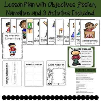 Academic Success Classroom Guidance Lesson PreK-Kindergarten