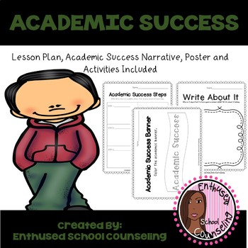Academic Success Classroom Guidance Lesson PreK-Kindergarten