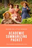 Academic Summarizing Packet for English Language Learners