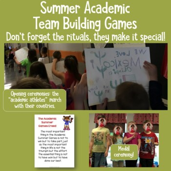 Academic Summer Games Freebie