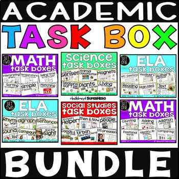 Academic Task Box Bundle #bundleupwithtpt