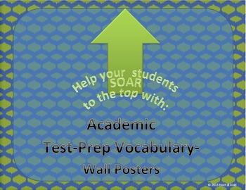 Academic Test-Prep Vocabulary Wall Posters