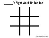 Academic Tic Tac Toe Boards