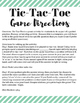 Academic Tic-Tac-Toe Academic Game Template and Directions