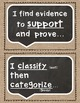 Academic Tier 2 Vocabulary Sentence Frames FARMHOUSE Burlap