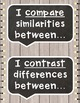 Academic Tier 2 Vocabulary Anchor Charts Sentence Frames FARMHOUSE shiplap