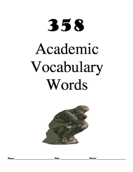 Academic Vocab Packet