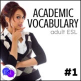 Academic Vocabulary 1 with Activities and Worksheets