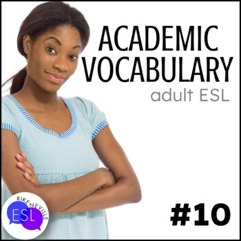 Academic Vocabulary 10 with Activities and Worksheets
